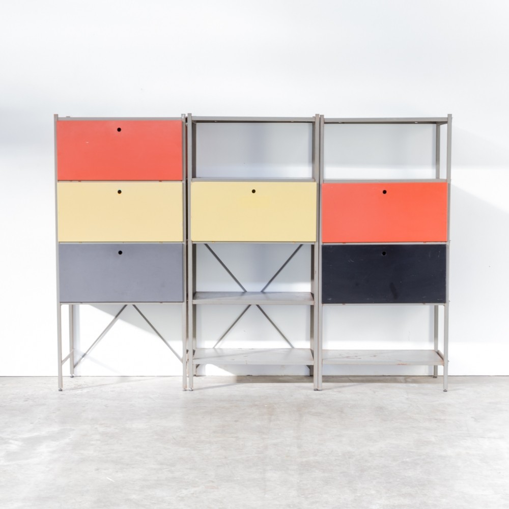Model 663 cabinet by Wim Rietveld for Gispen, 1950s