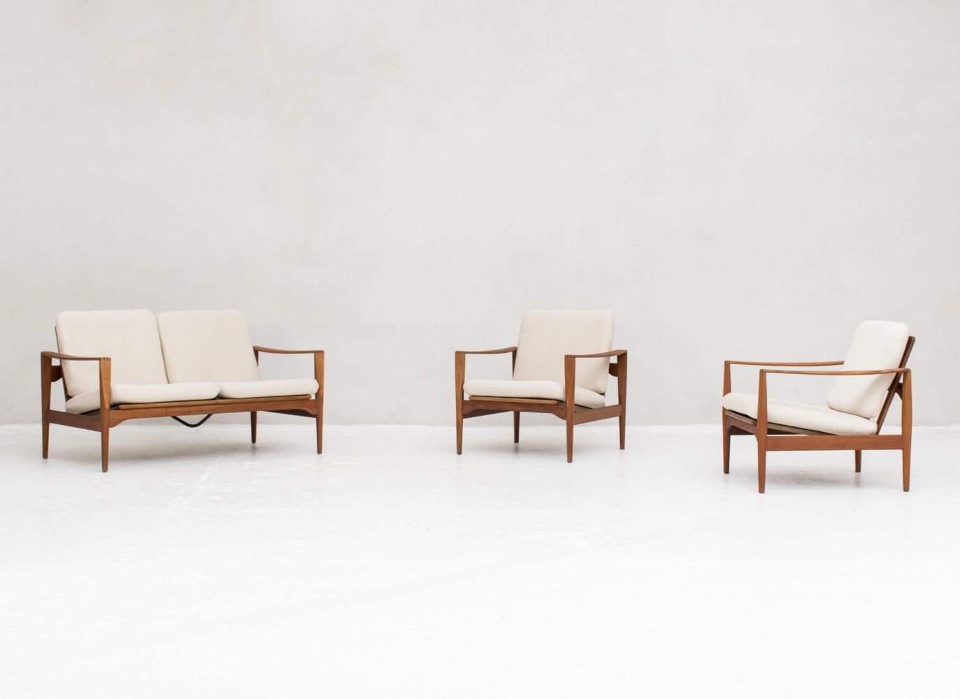 Seating group by Illum Wikkelso, Denmark 1960s