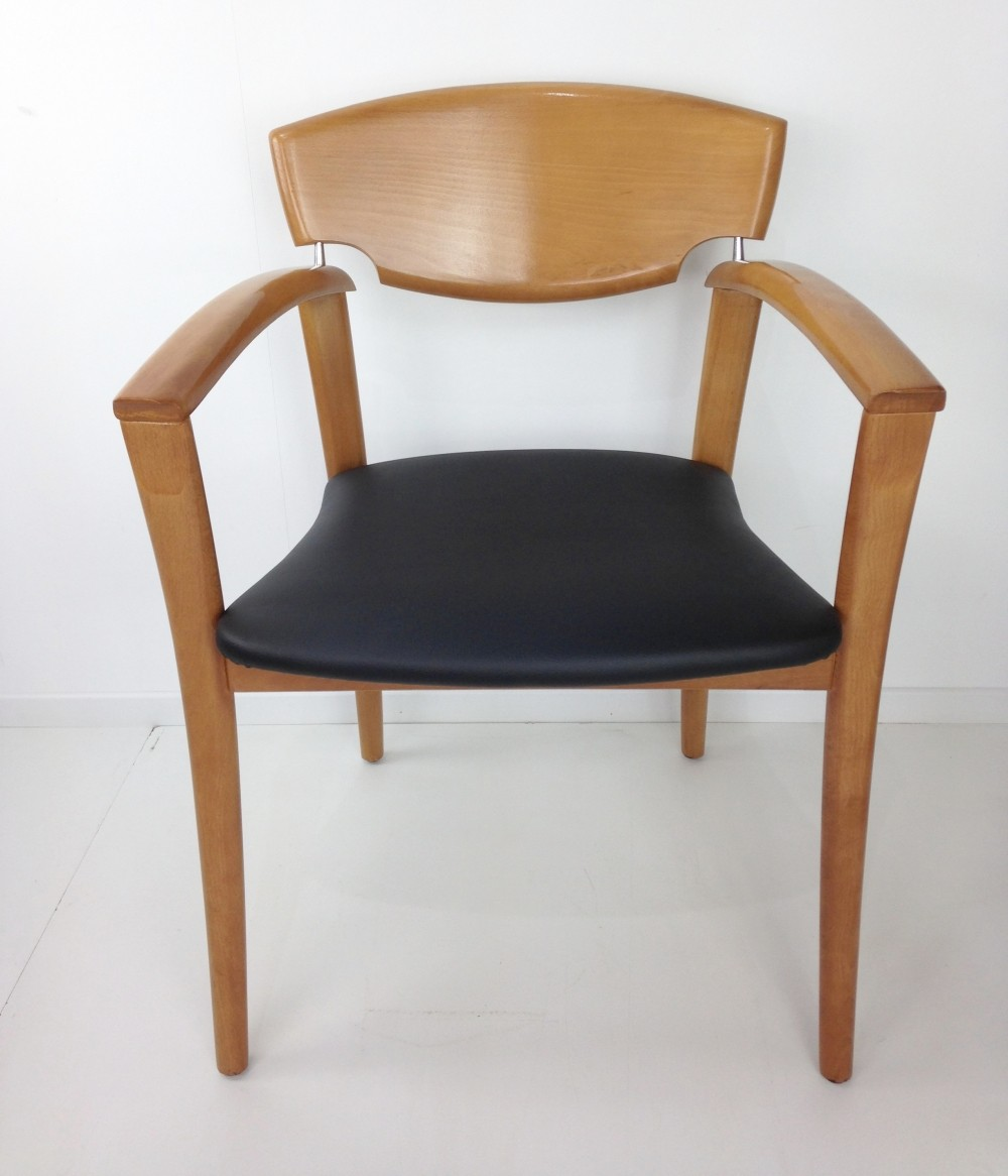Set of 6 vintage dining chairs, 1980s