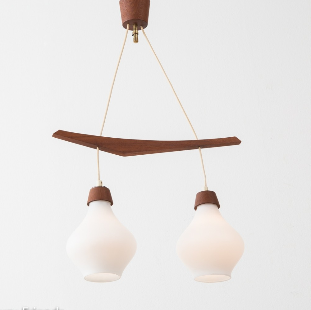 Scandinavian Design Hanging Lamp From The 1960s