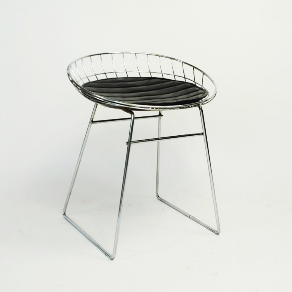 2 x KM05 stool by Cees Braakman for Pastoe, 1950s