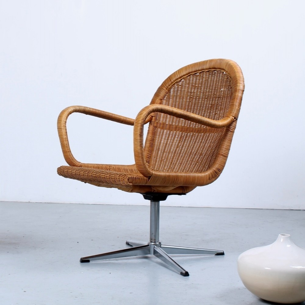 Lounge chair by Dirk van Sliedregt for Rohé Noordwolde, 1960s
