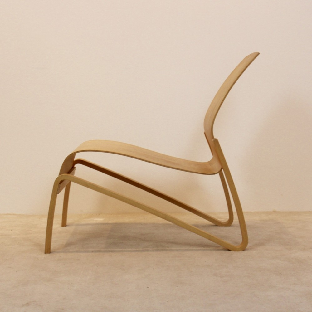 Artek Plywood Nandin Lounge Chair by Hans Peter Weidmann