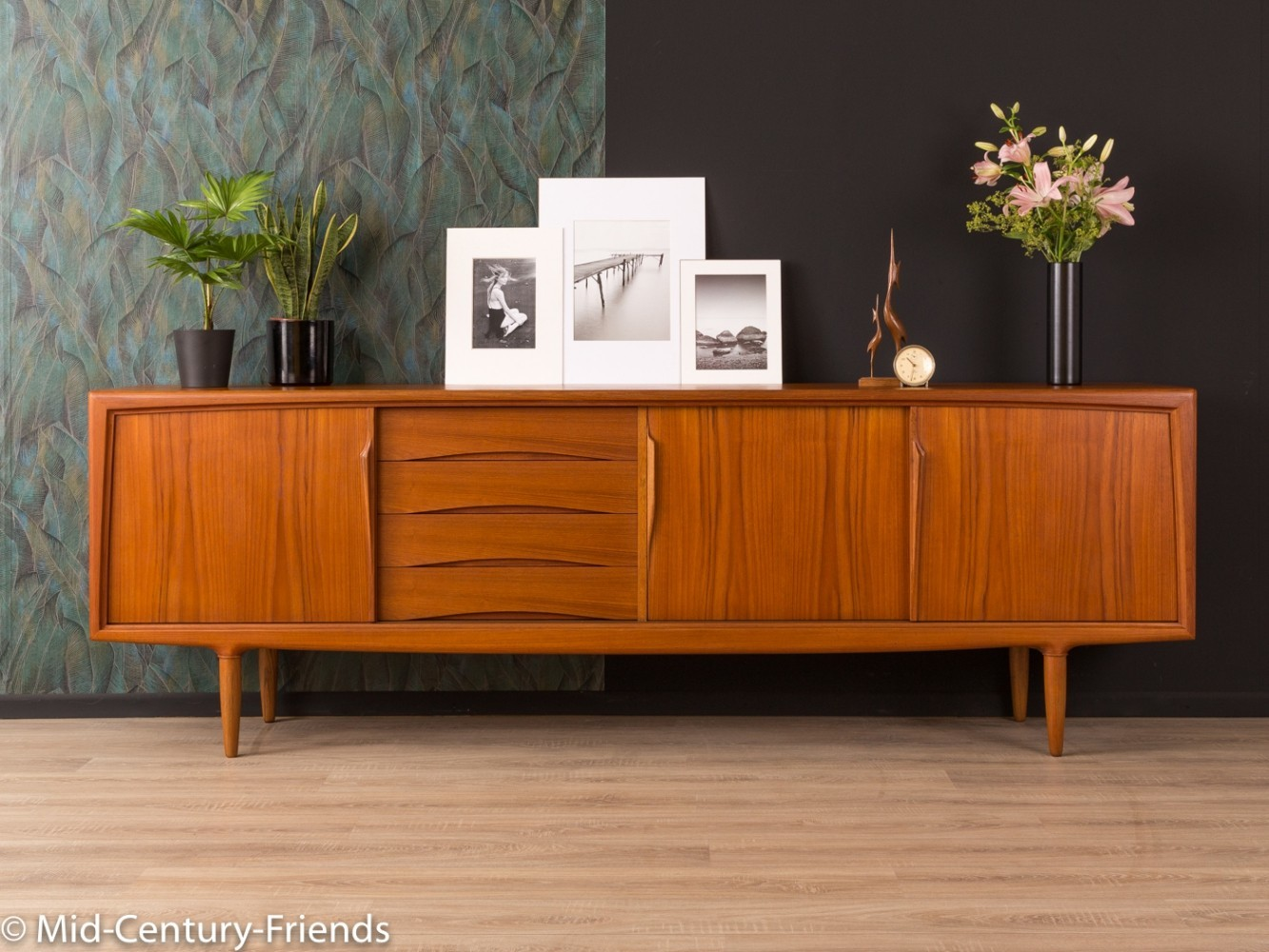 1960s Sideboard by Gunni Omann for Axel Christiansen