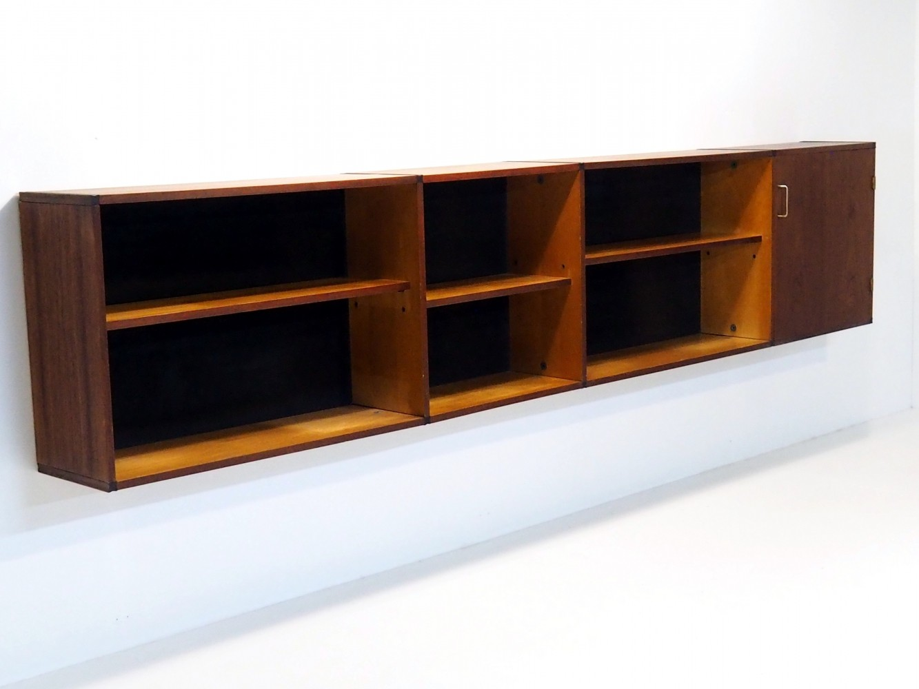 Extremely rare floating sideboard by Cees Braakman for Pastoe, 1960s