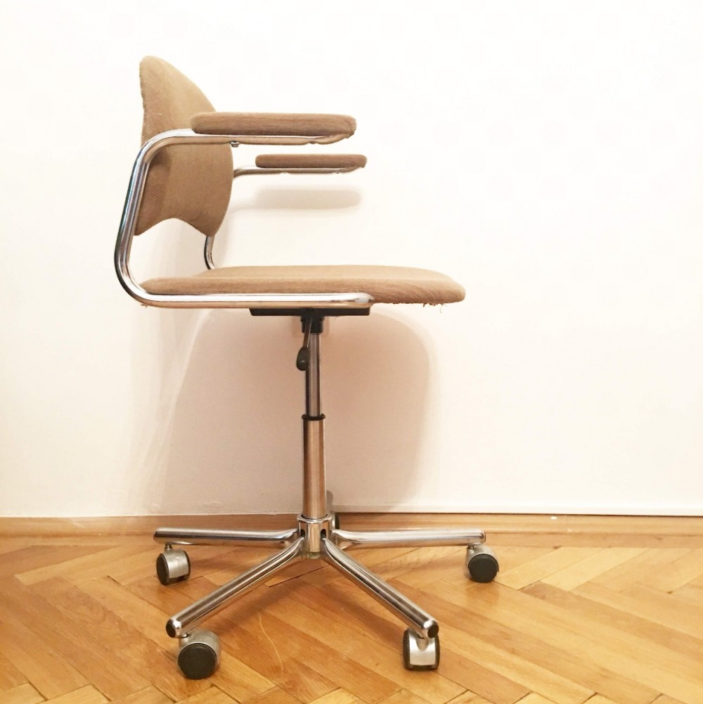 Set of 4 Kovona NP office chairs, 1960s