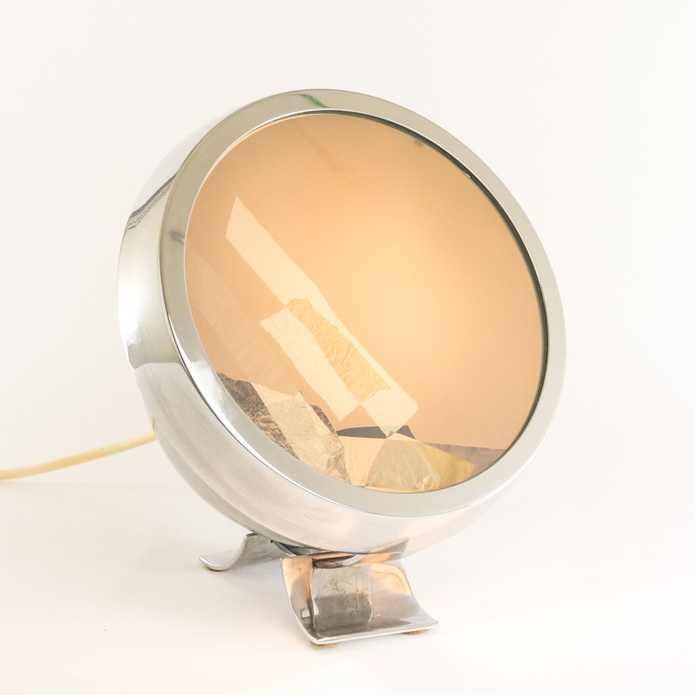Table lamp 6P2 by Paolo Tilche for Sirrah, 1968
