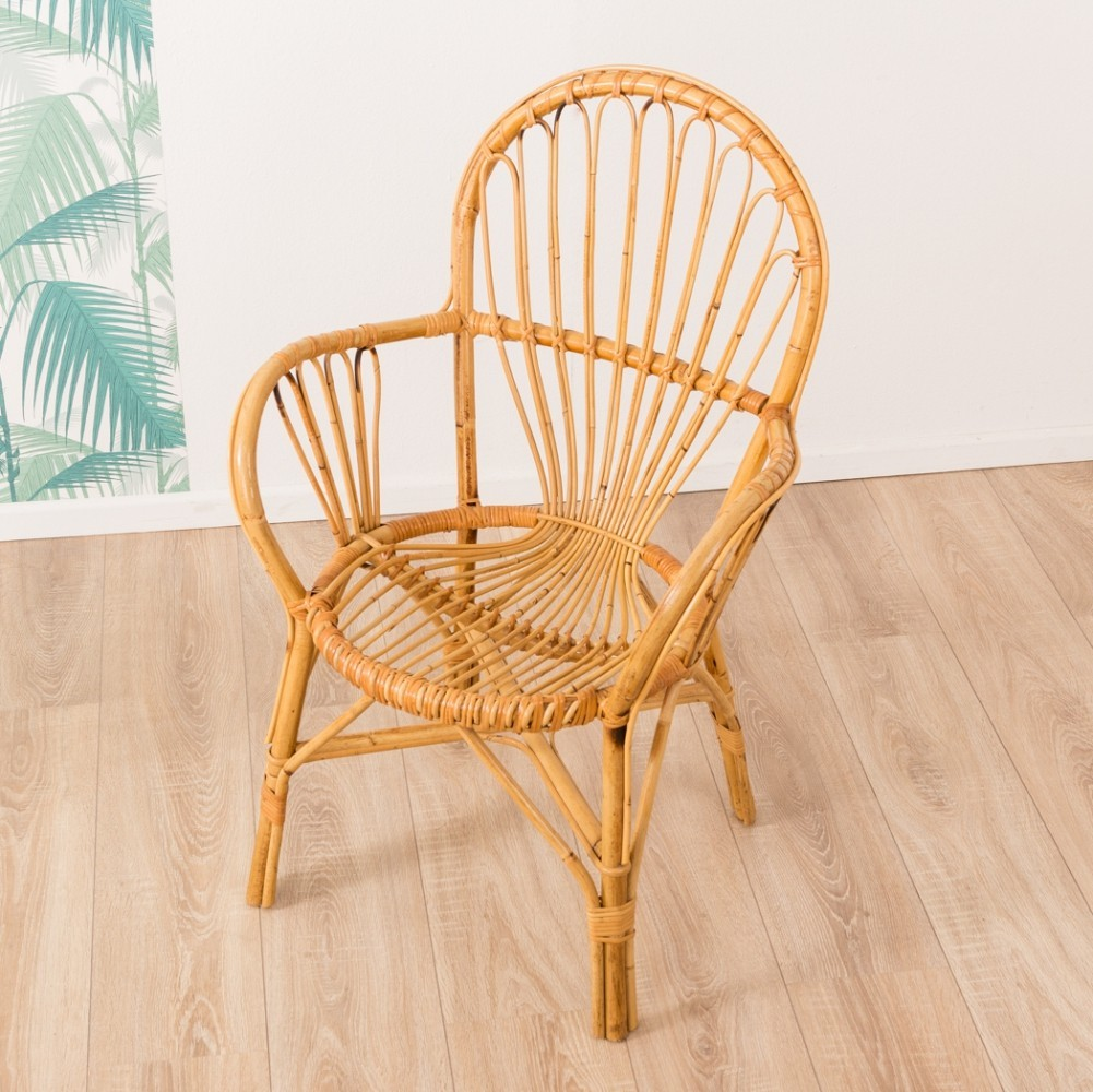 Bamboo chair from the 1960s