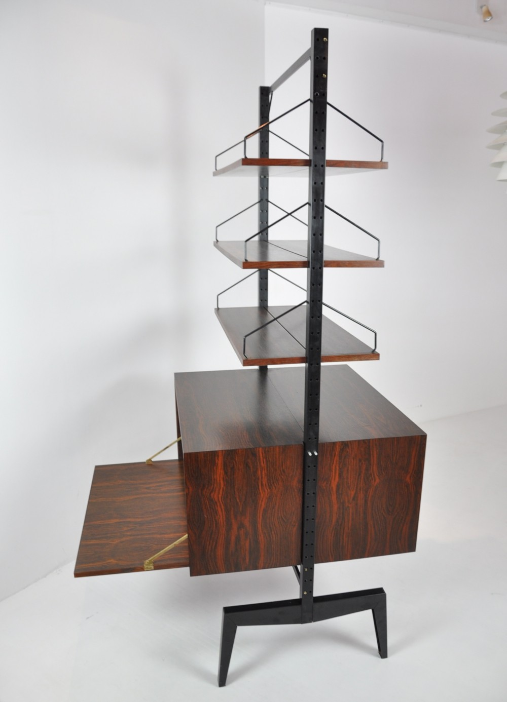 Freestanding Room Divider in Rosewood by Poul Cadovius, 1950s