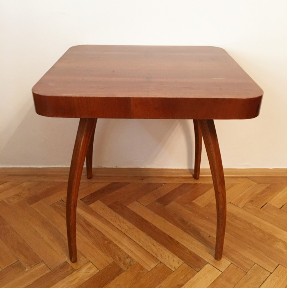Spider coffee table by Jindřich Halabala for UP Rousínov, 1960s