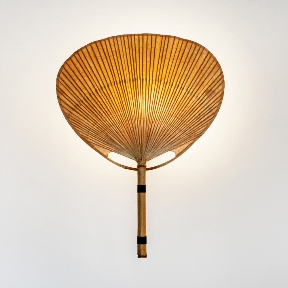 Uchiwa III wall lamp by Ingo Maurer for Design M, 1970s