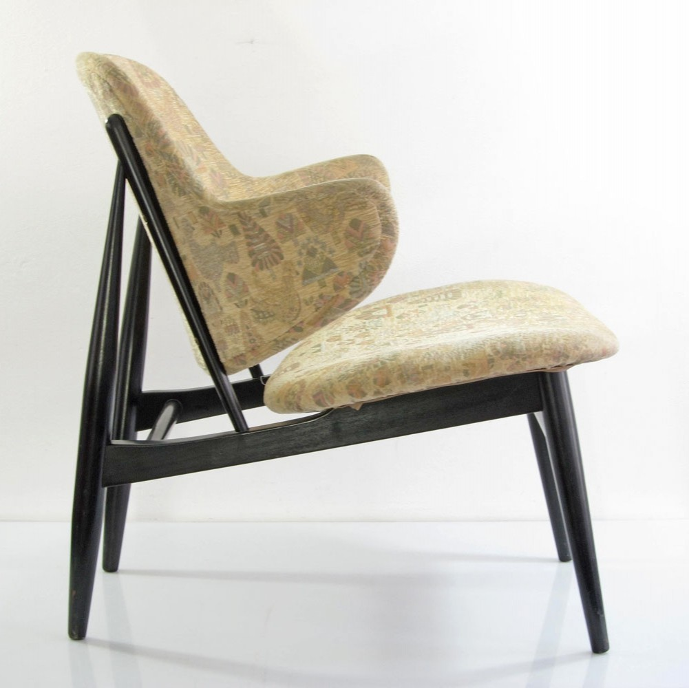 Marvelous I.B. Kofod Larson Vintage Danish Design Lounge Chair