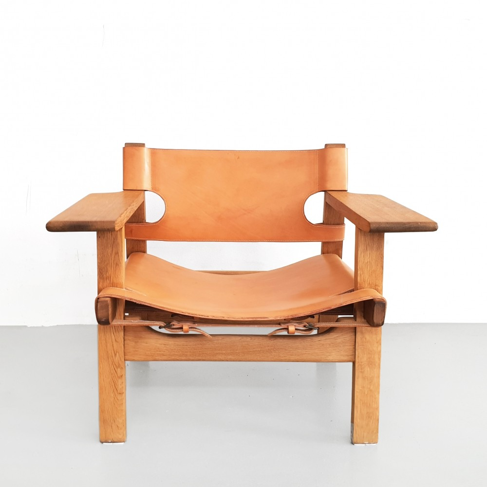 Spanish lounge chair by Børge Mogensen for Fredericia Stolefabrik, 1950s