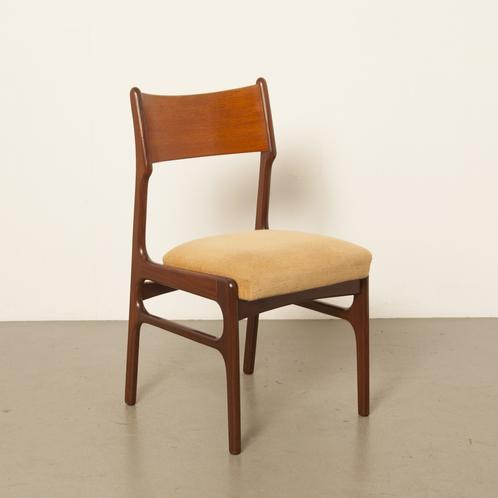 Pleasing 4 X Dutch Rosewood Dining Room Chair Andrewgaddart Wooden Chair Designs For Living Room Andrewgaddartcom