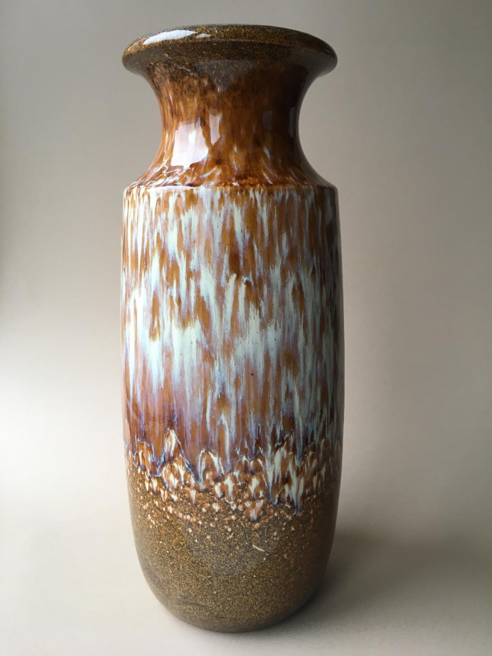 Large Mid-century Floor Vase by Scheurich, Germany 1960s