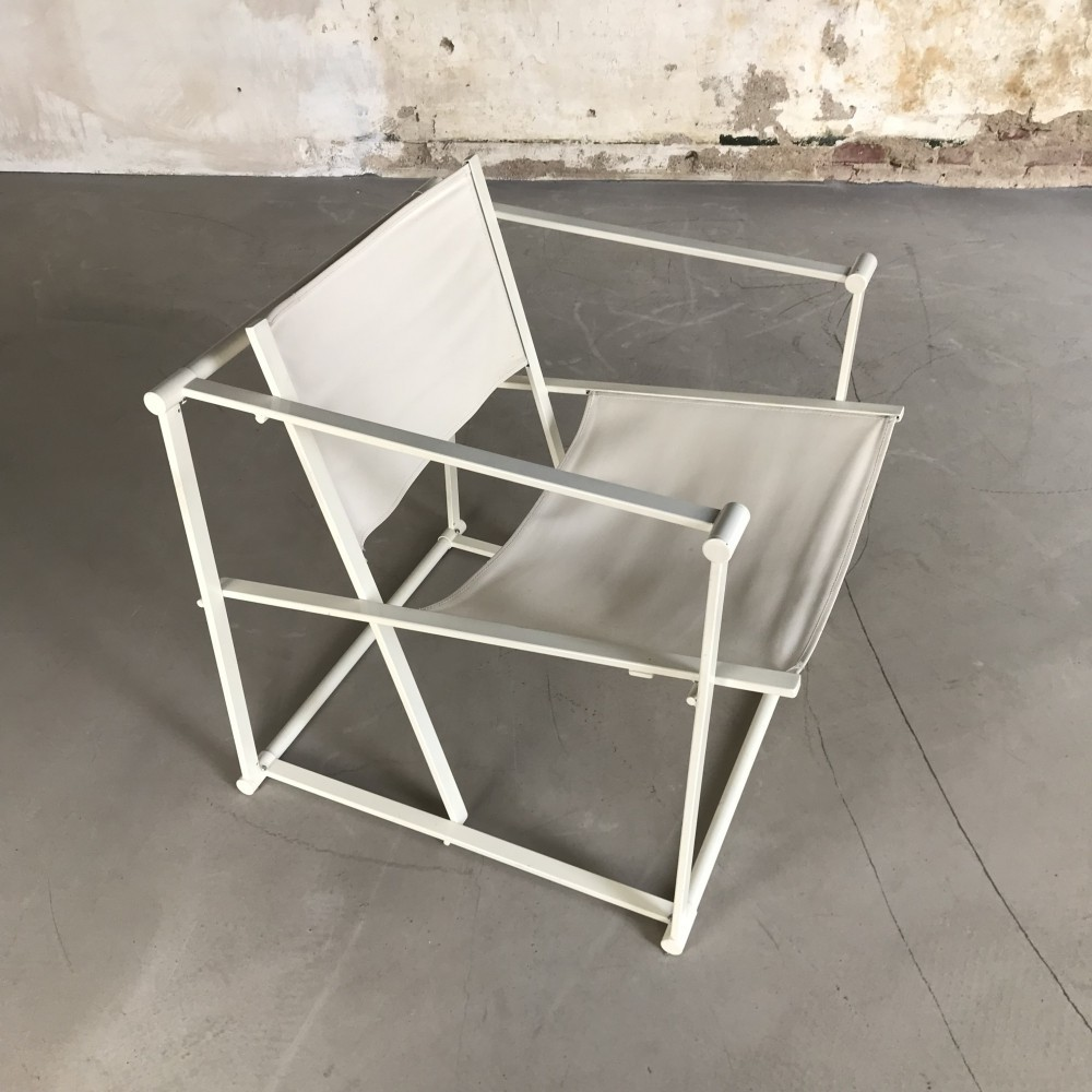 Original Pastoe Cubic Chair by Radboud van Beekum, 1980s