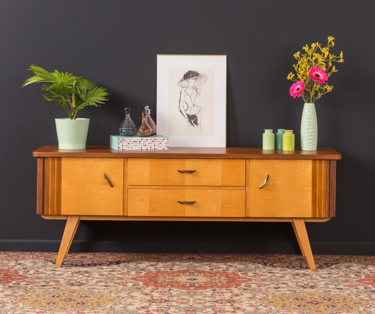 German two-tone sideboard from the 1950s