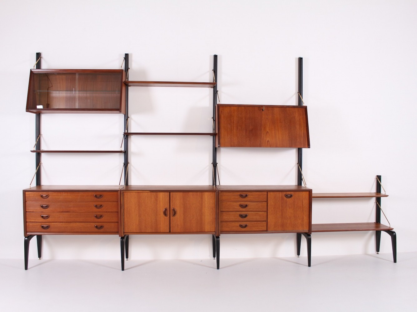 Wébé wall unit by Louis Van Teeffelen