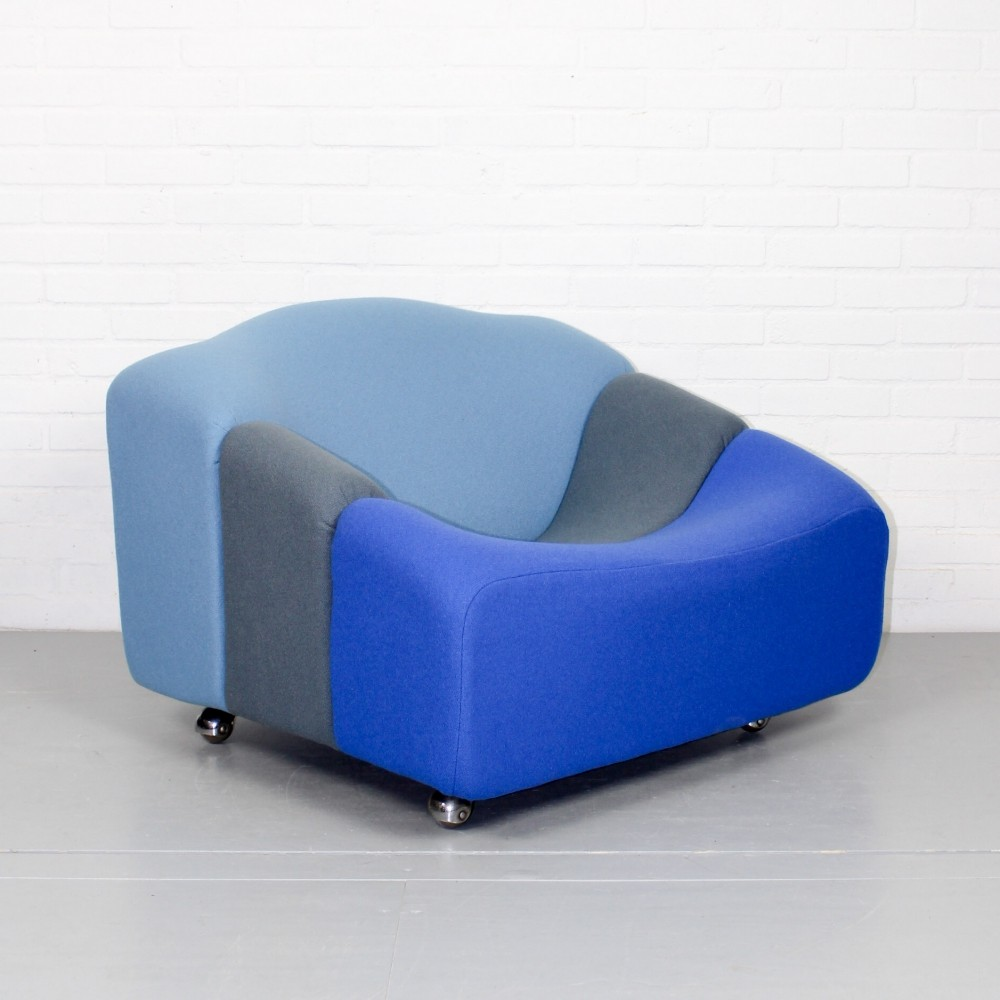Vintage Dutch ABCD Lounge Chair by Pierre Paulin for Artifort, 1960s