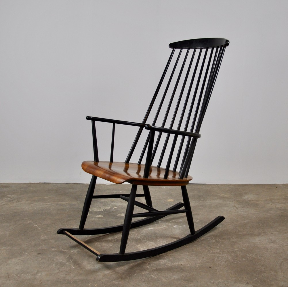 Rocking Chair by Ilmari Tapiovaara, 1950s