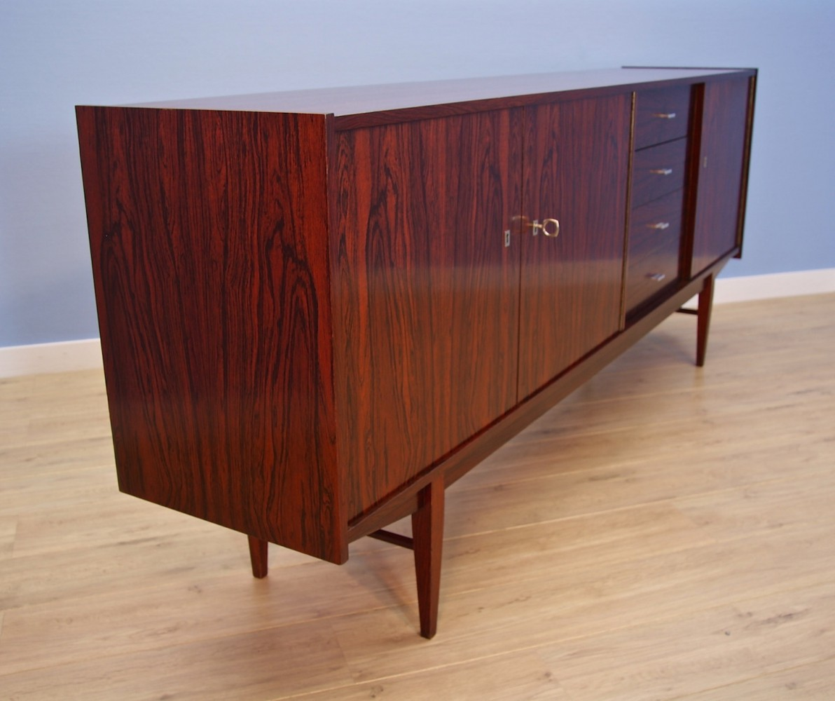 Dutch sideboard in rosewood, 1960s