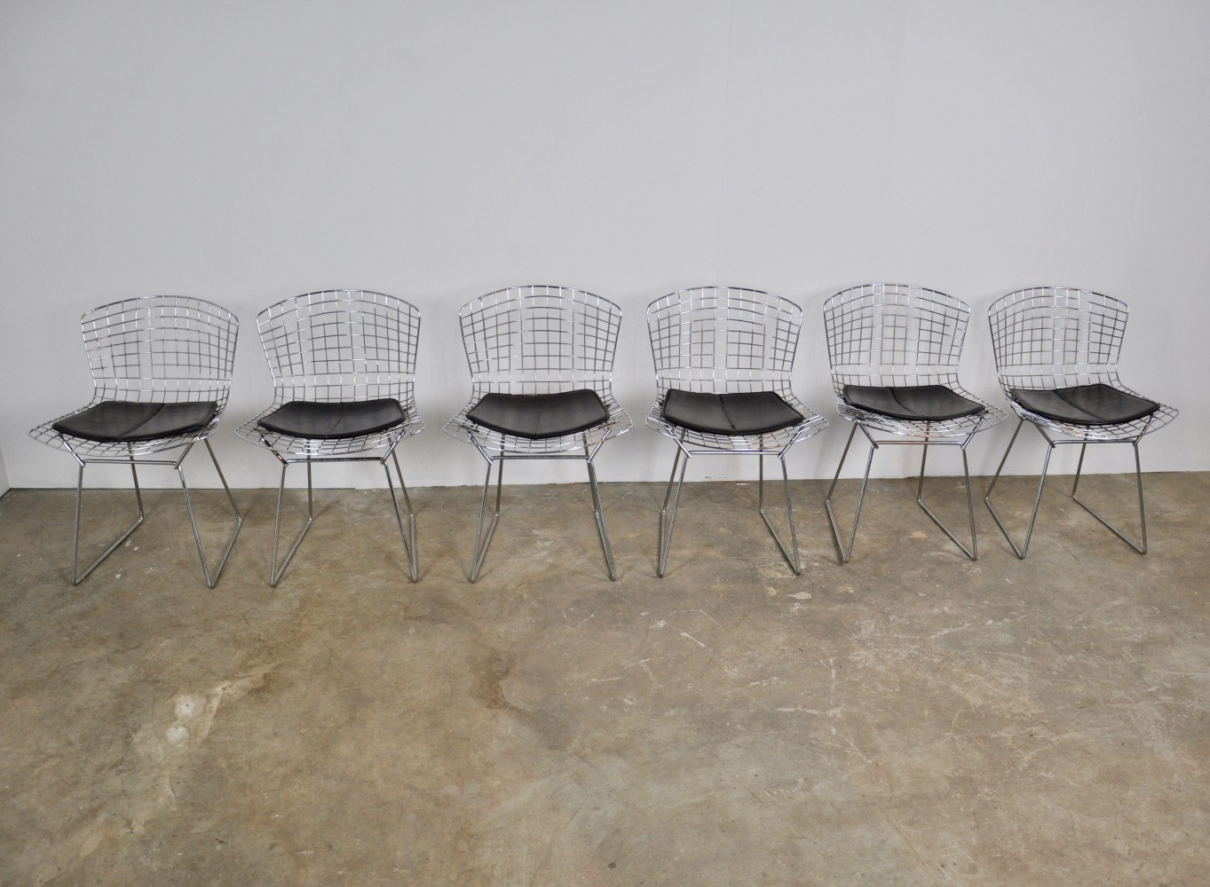 Set of 6 Chairs by Harry Bertoia for Knoll, 1960s