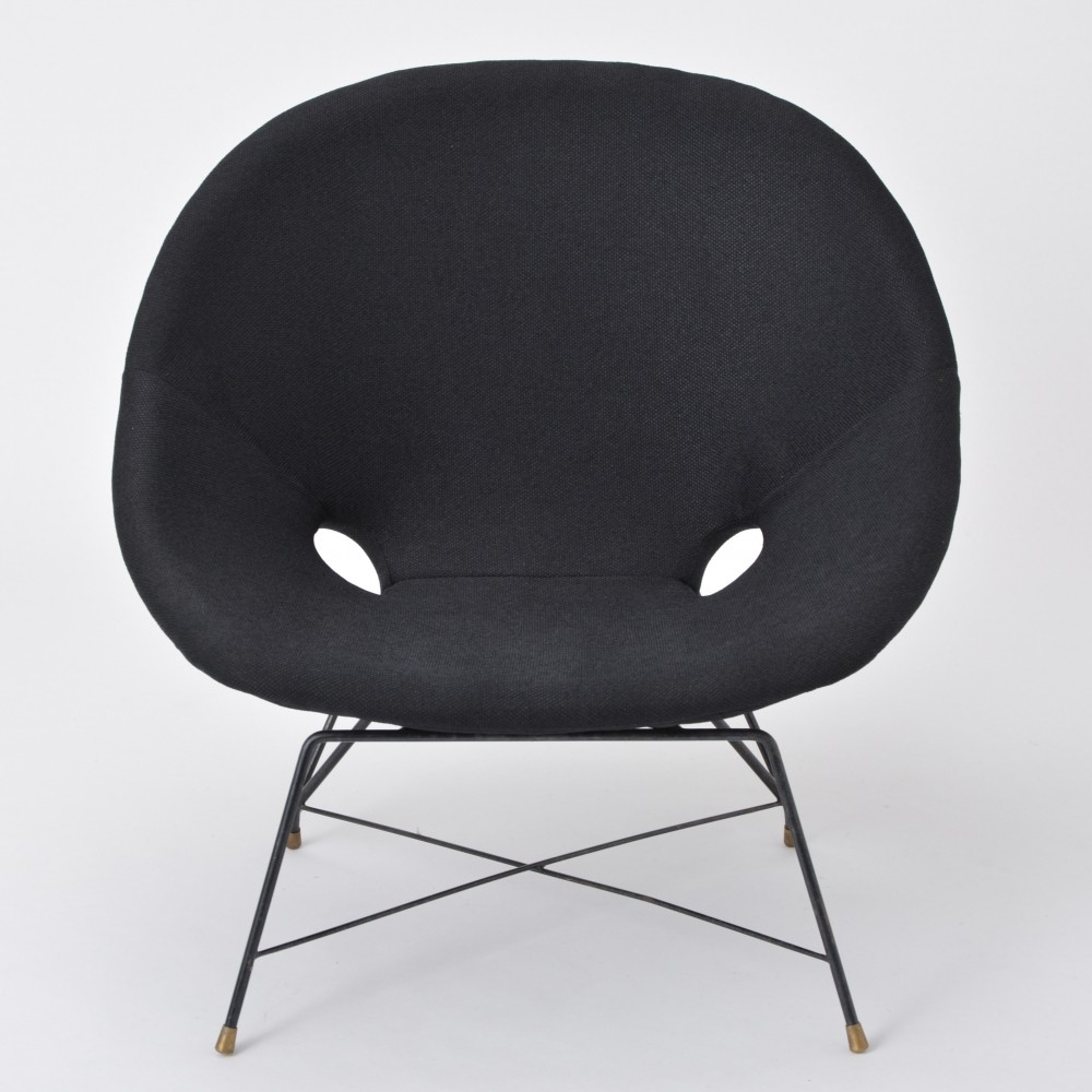 Vintage Cosmos Lounge Chair by Augusto Bozzi produced by Saporiti