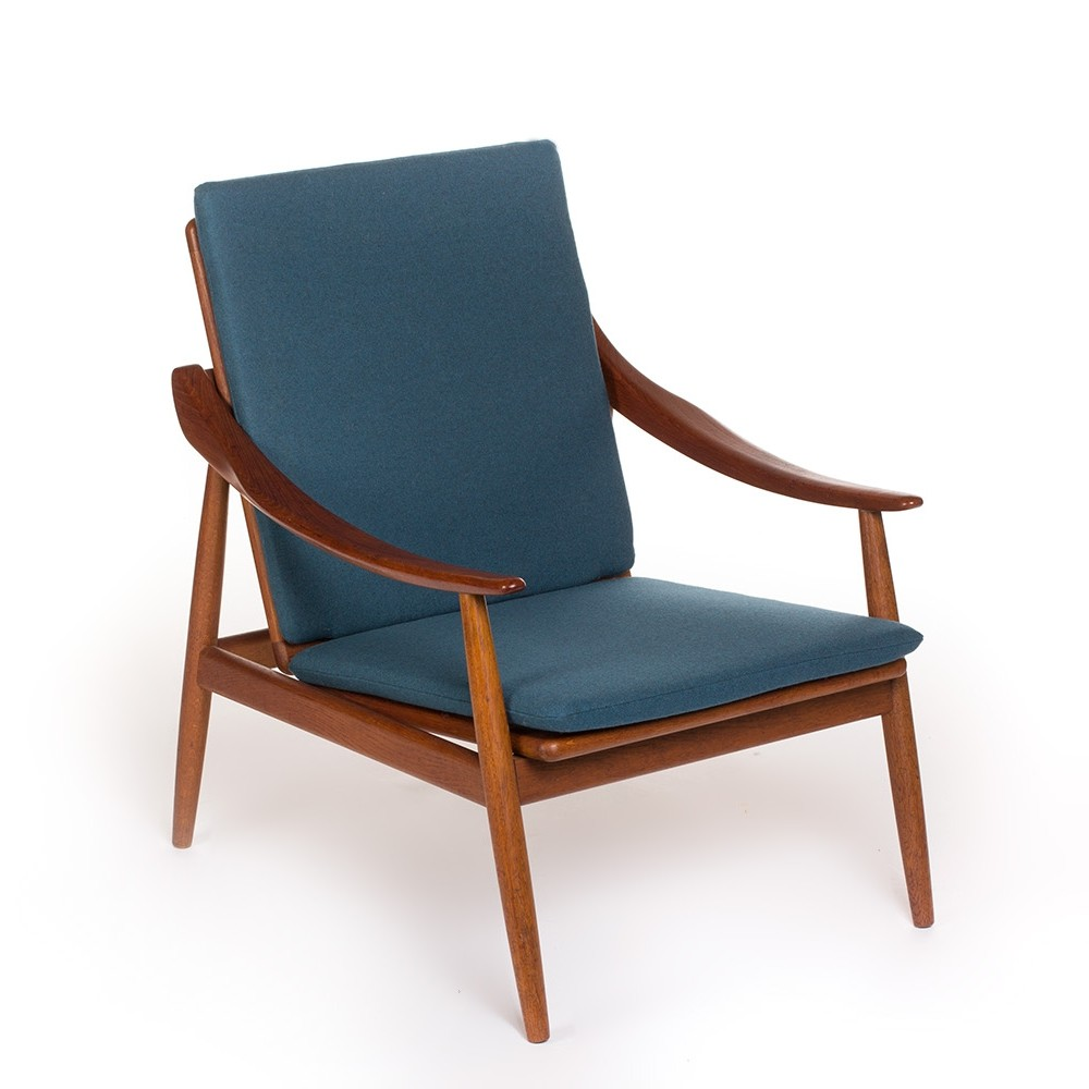 Very rare vintage model 301 easy chair by Kurt Ostervig for Jason Mobler, 1956