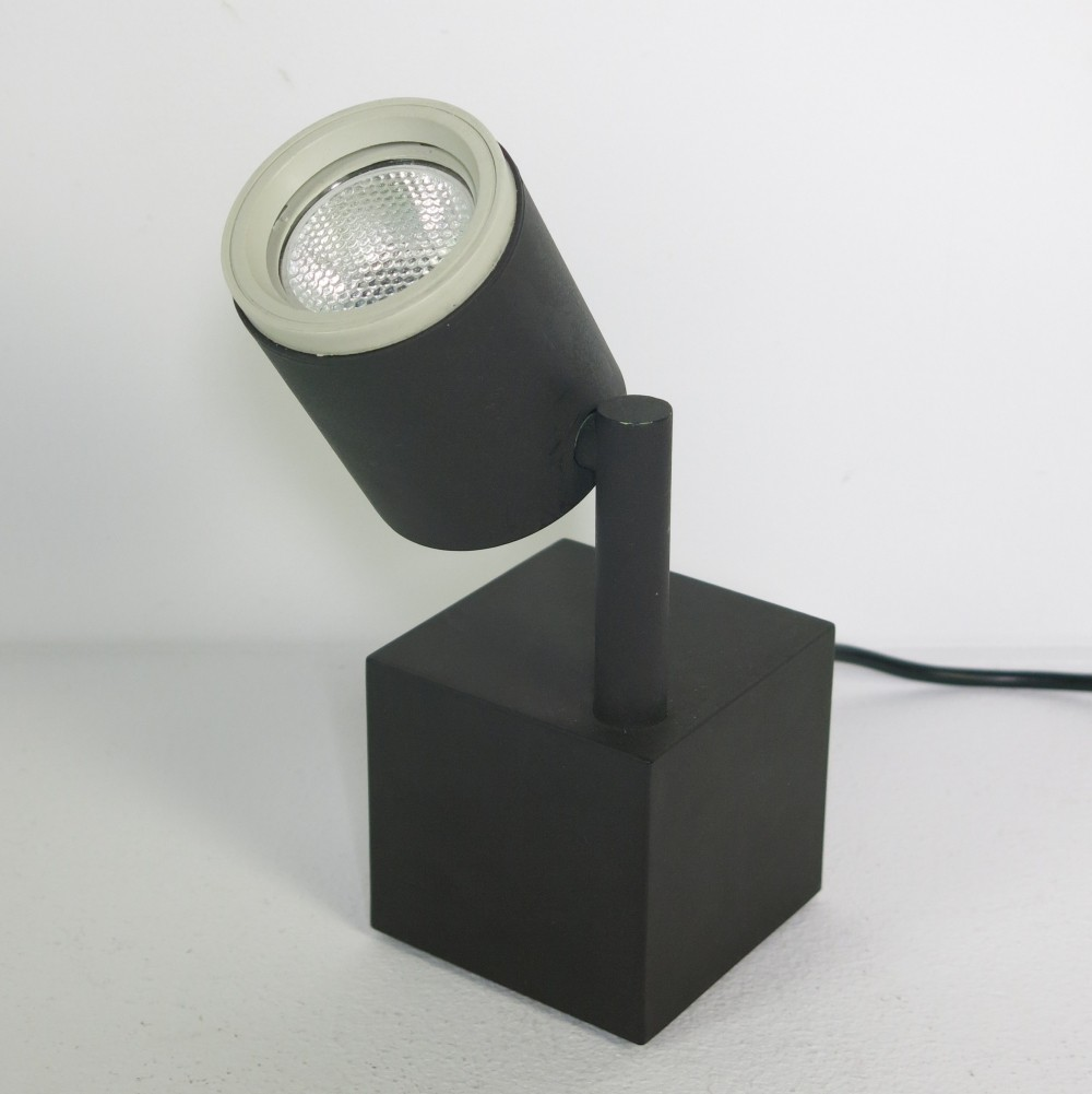 Halo-click 1 spotlight by Ettore Sottsass for Philips, 1988