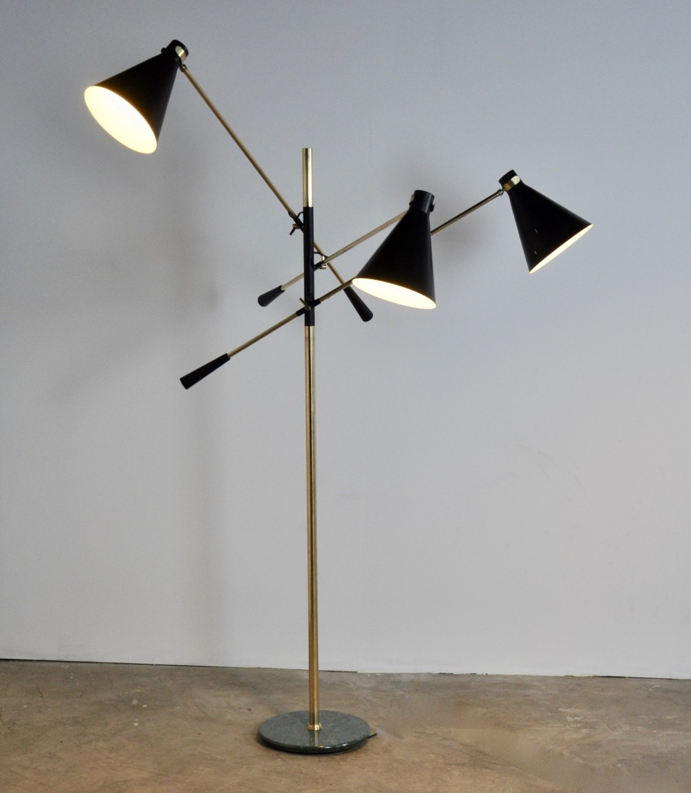 Floor Lamp by Stilnovo, 1950s
