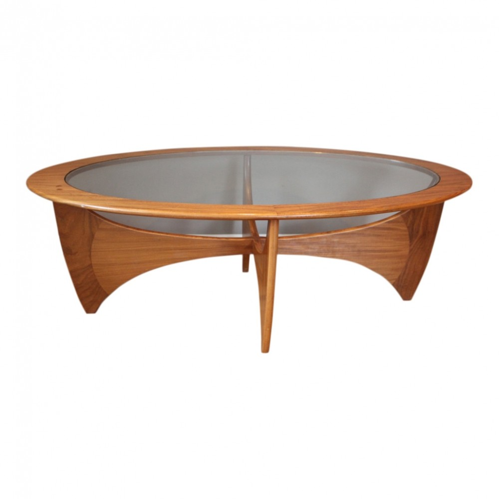 Oval Coffee Table Plans: Oval Vintage Teak Coffee Table By VB Wilkins For G-PLAN