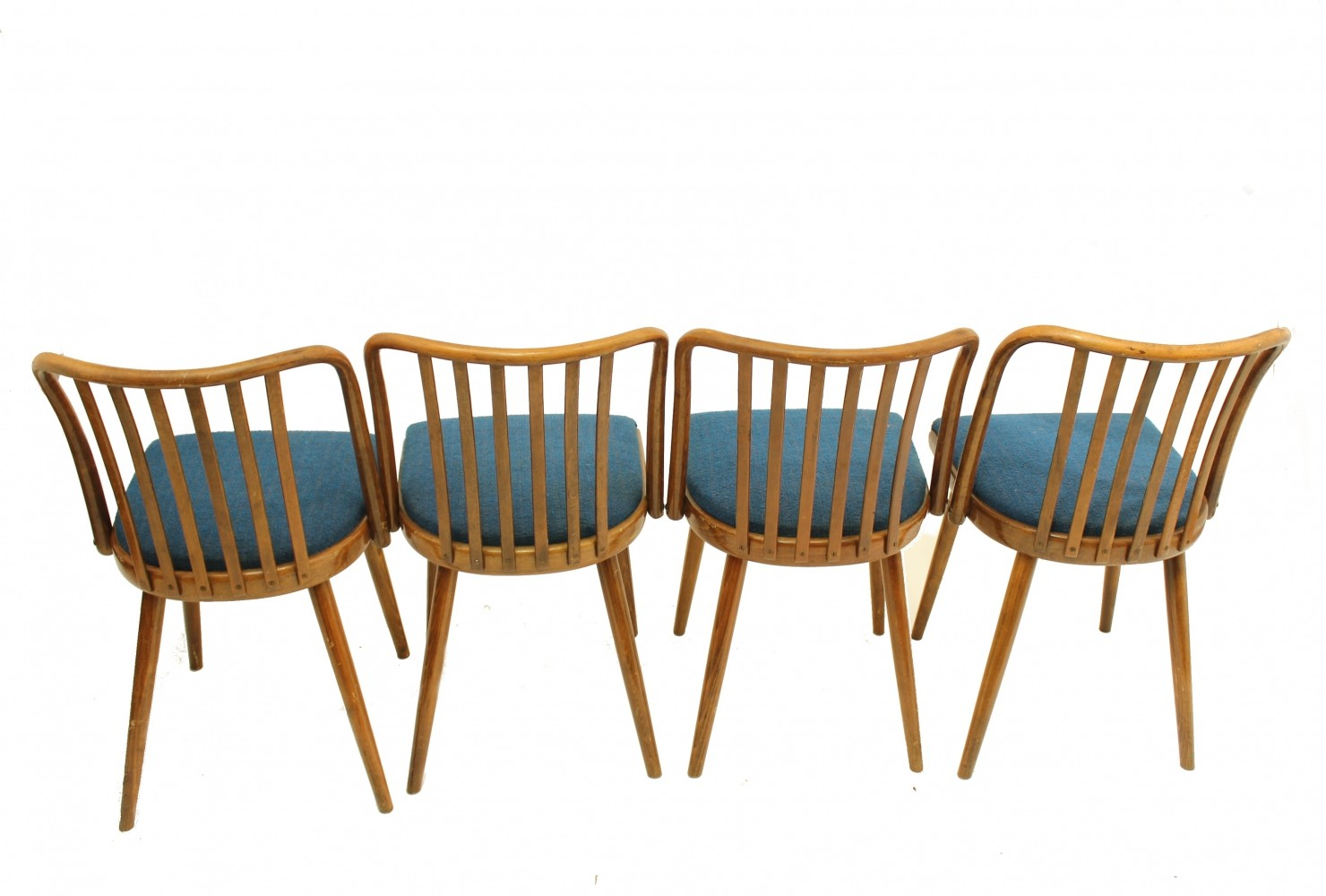 Set of dining chairs by TON