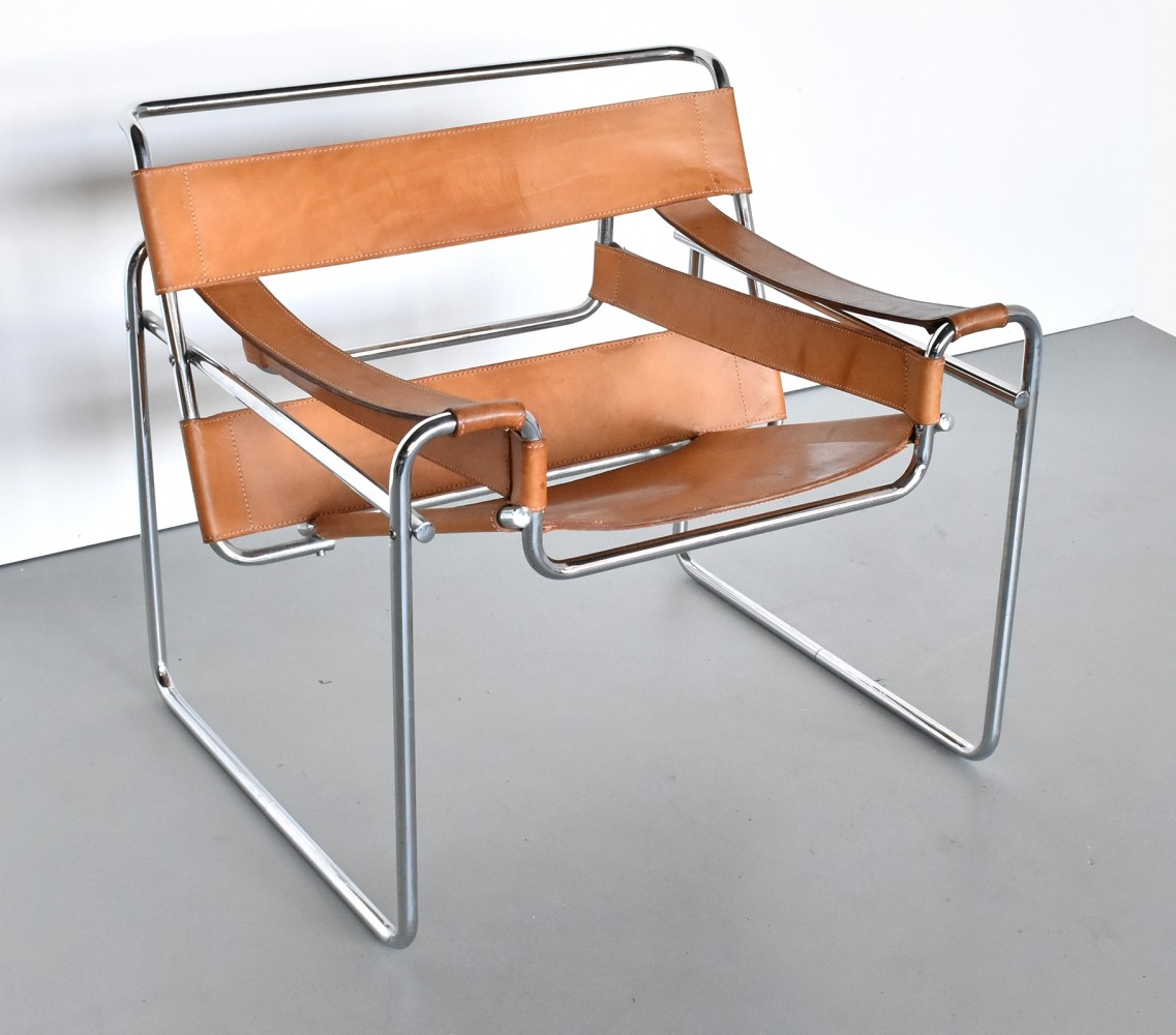 B3 lounge chair by Marcel Breuer for Fasem, 1980s