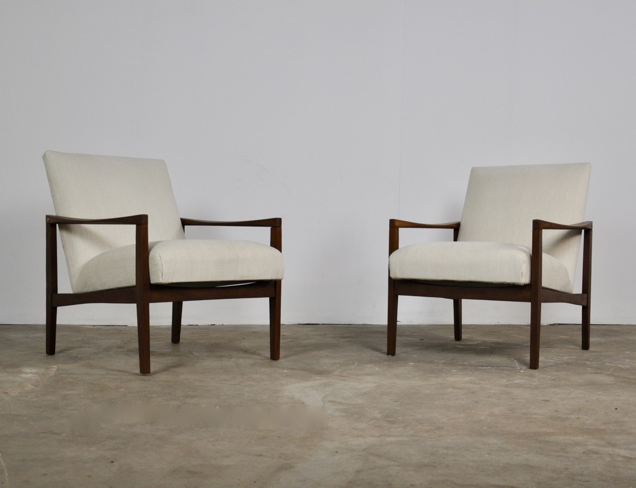Pair of Scandinavian armchairs, 1960s