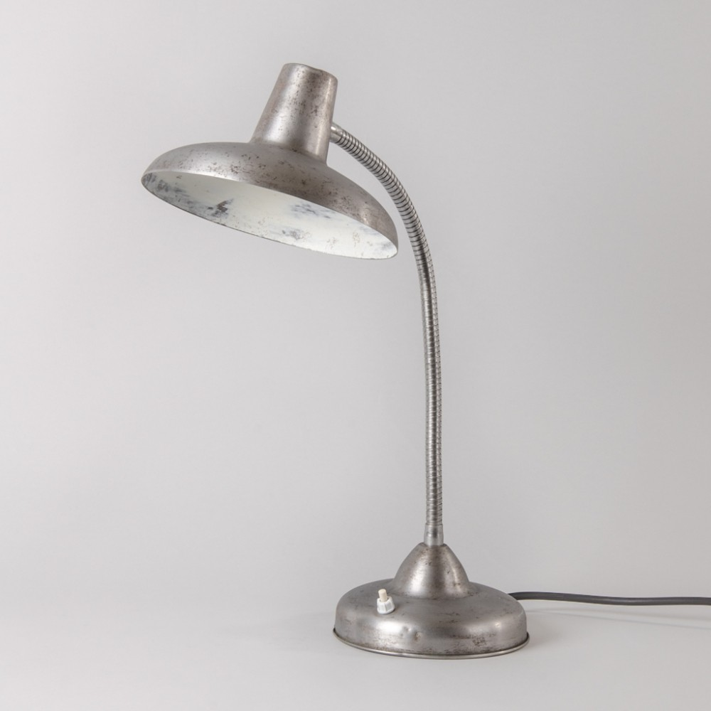 French Industrial Flexible Lamp, 1960s