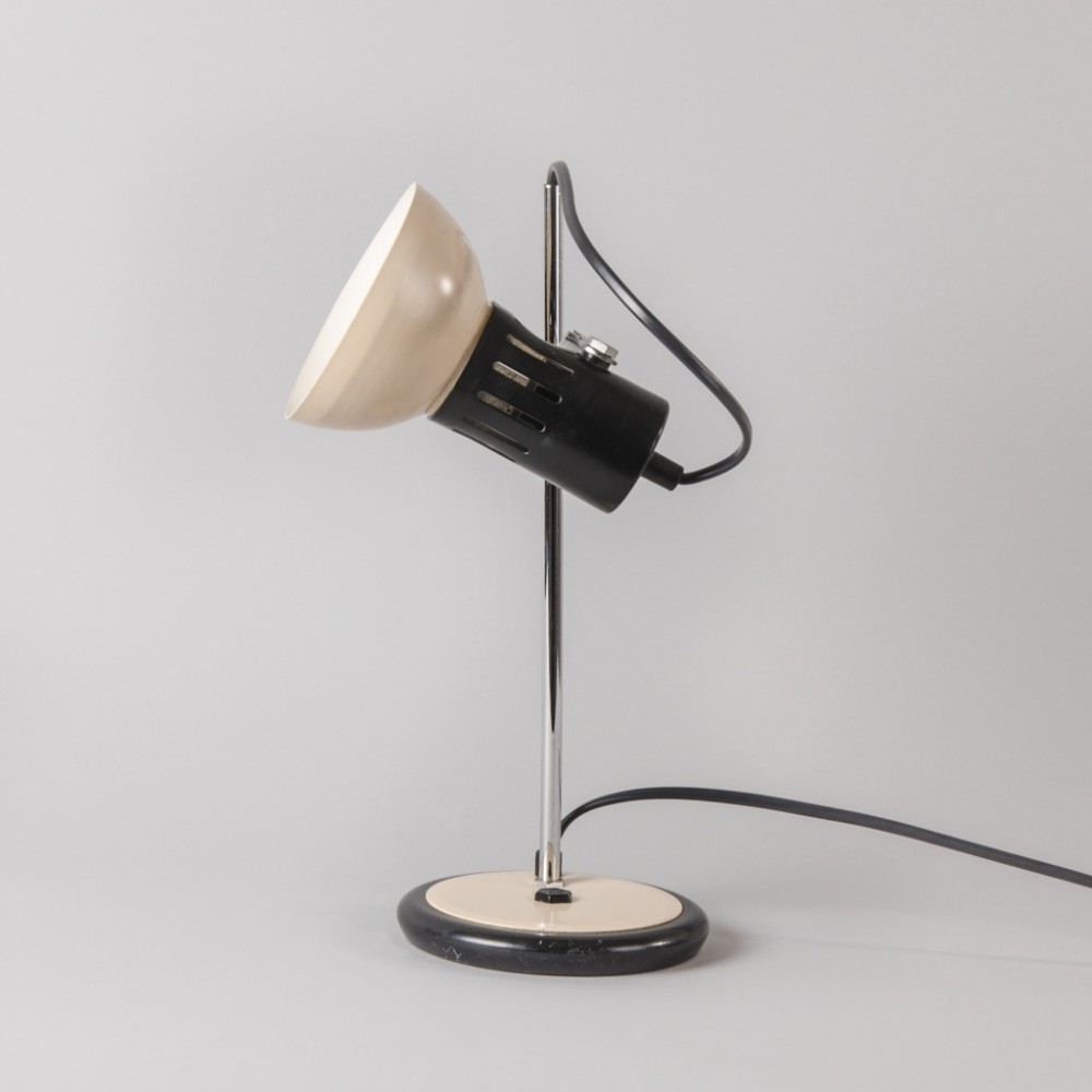 Vintage Table Lamp from Aluminor, 1960s