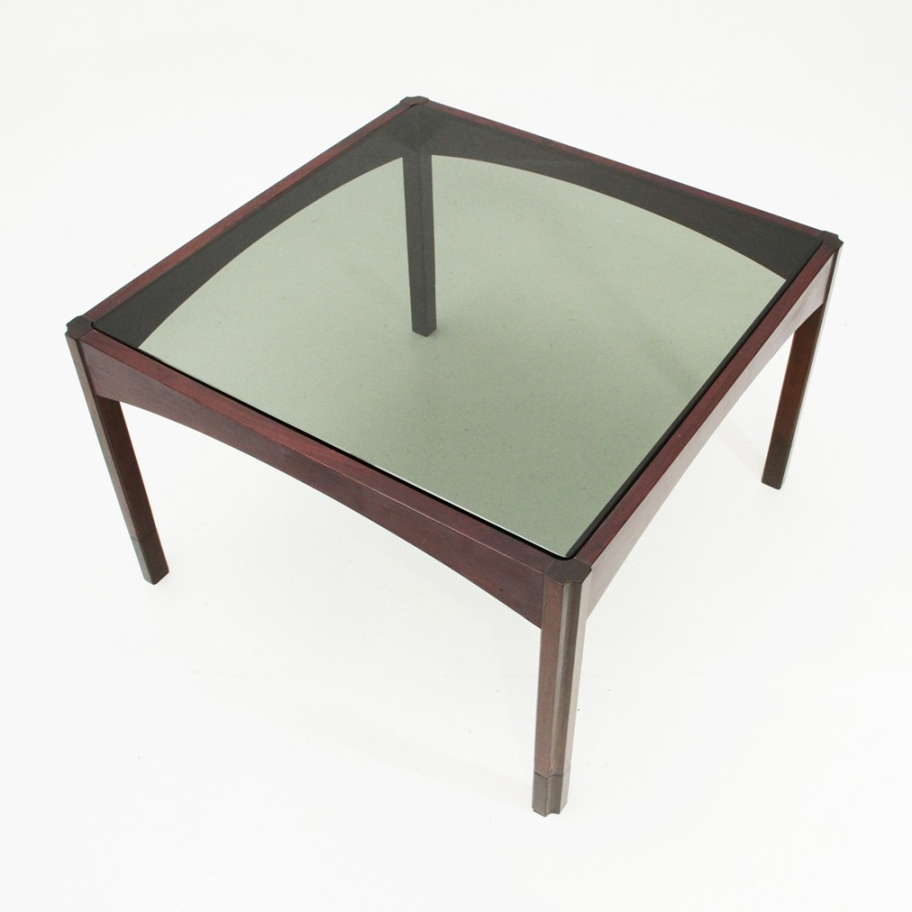 Italian mid-century square coffee table, 1960s