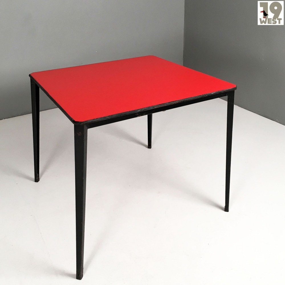 Industrial design work or dining table by Wim Rietveld