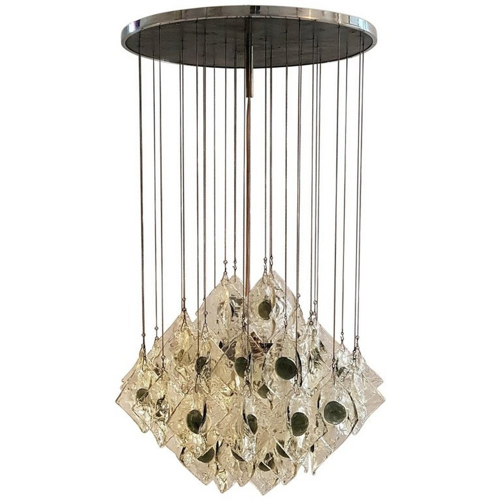 Chandelier by Mazzega, Italy 1960s