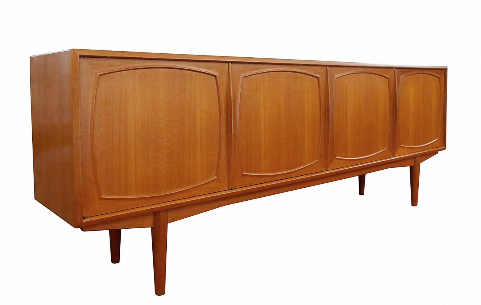 Teak Sideboard by Rastad & Relling for Bahus, 1960s