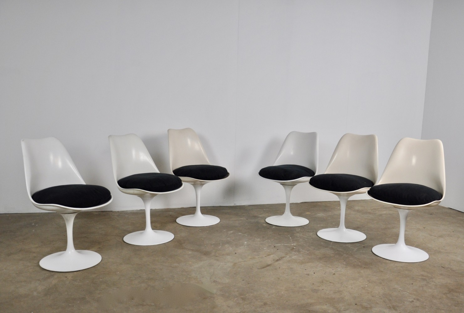 Set of 6 Dining Chairs by Eero Saarinen for Knoll International, 1960s