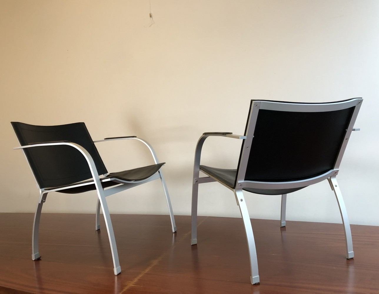 Pair of IKEA lounge chairs, 1990s