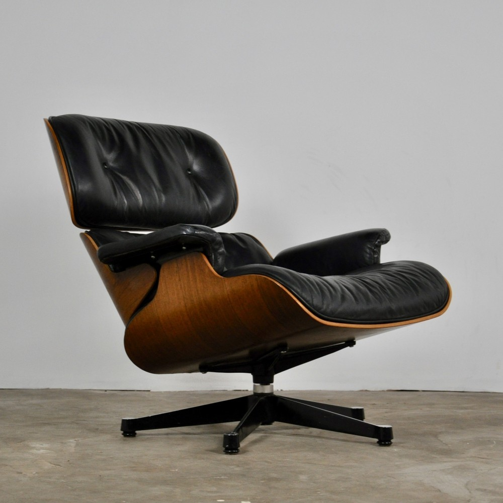 lounge chair by charles ray eames for herman miller 1970s 93265. Black Bedroom Furniture Sets. Home Design Ideas