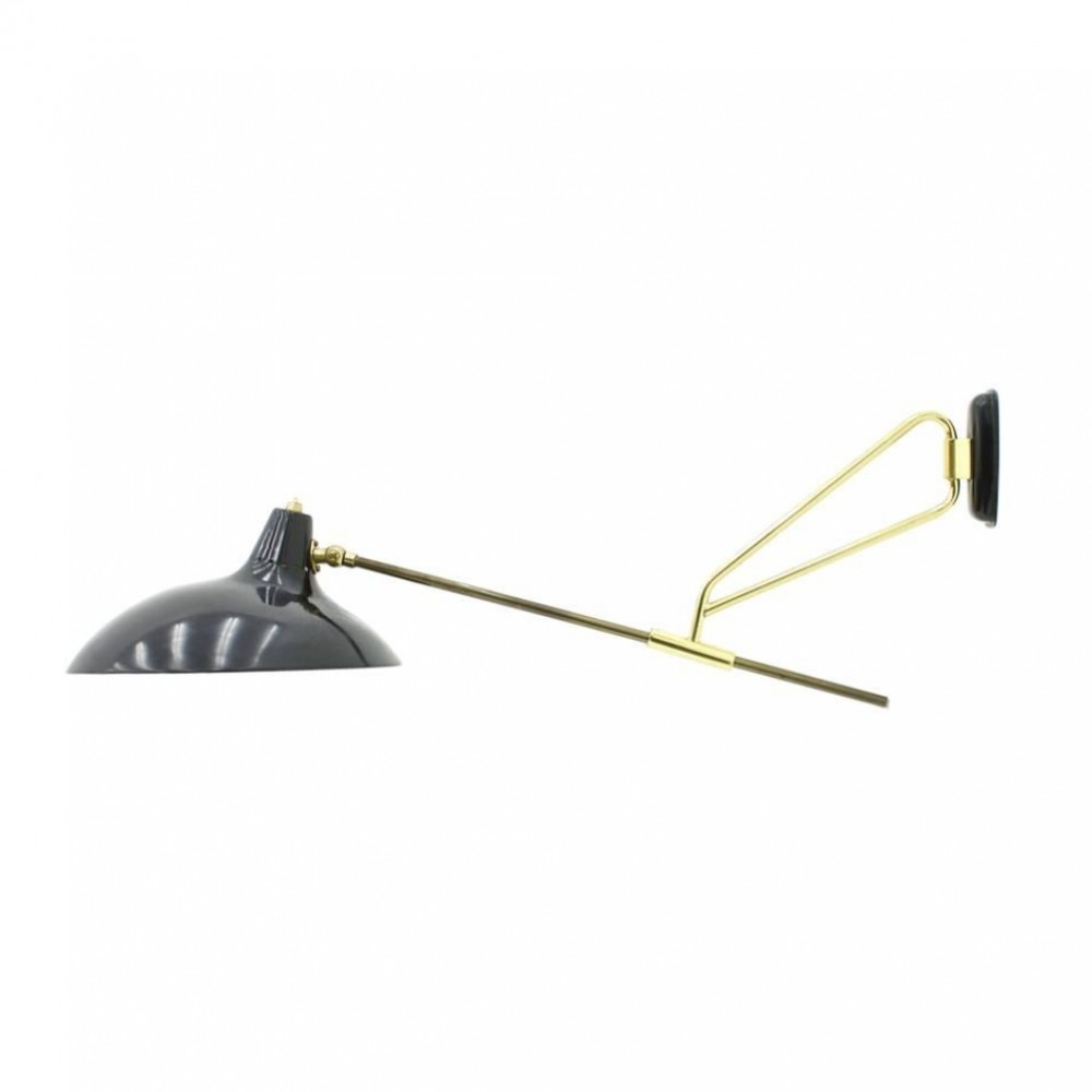Christian Dell Adjustable Wall Lamp by Kaiser Idell, Germany 1950s