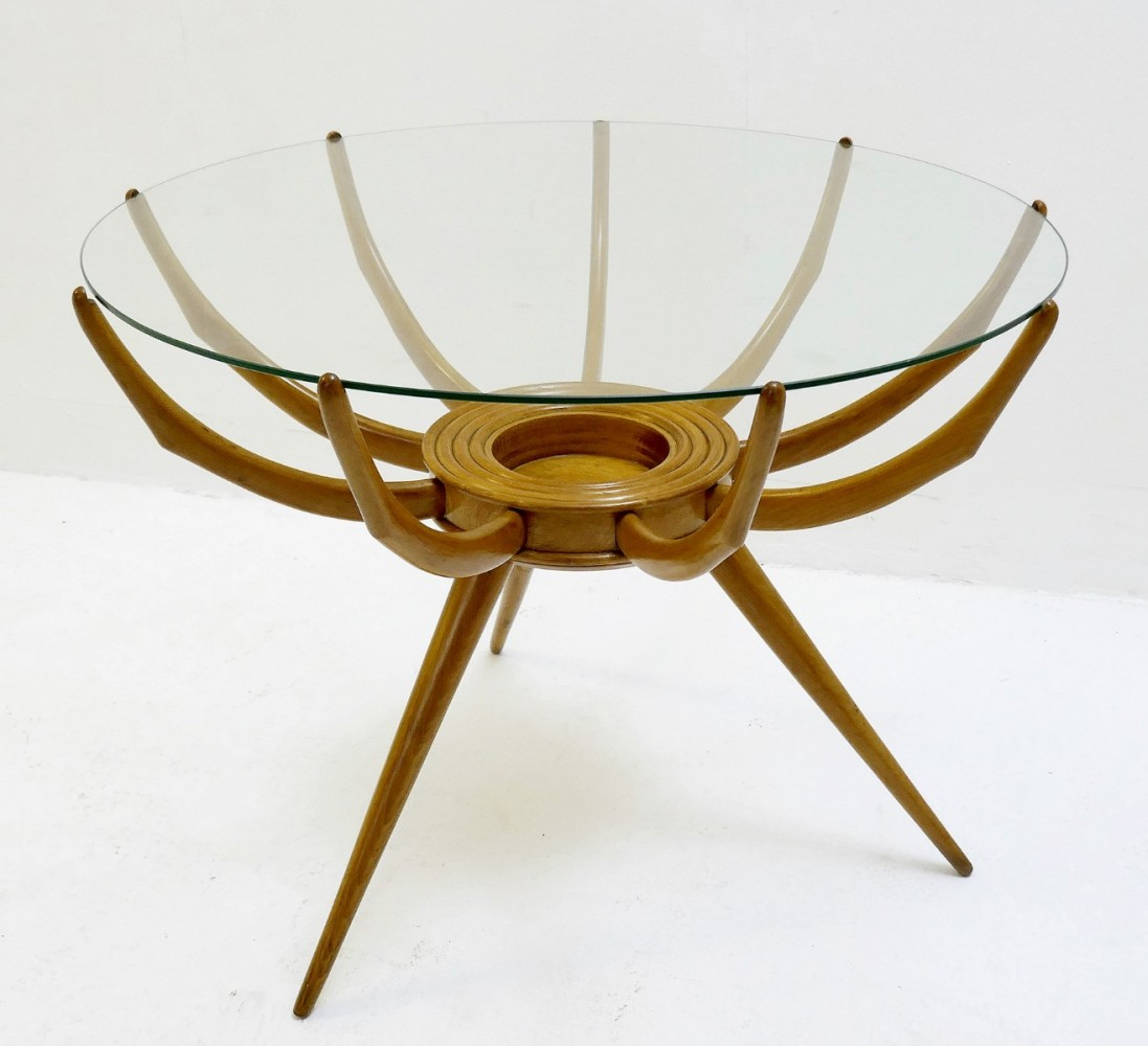 Spider Coffee Table By Carlo De Carli, 1950