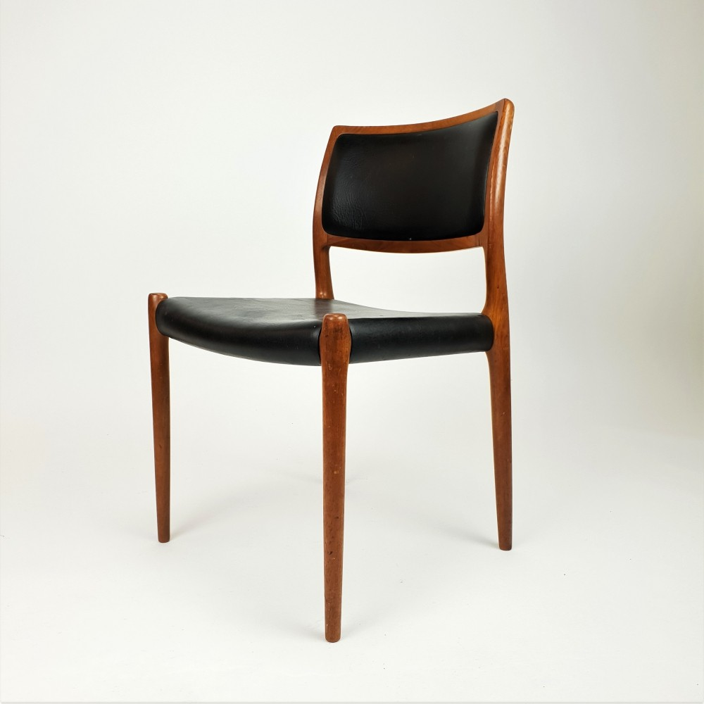 Niels Otto Moller model 80 dining chair, 1960s