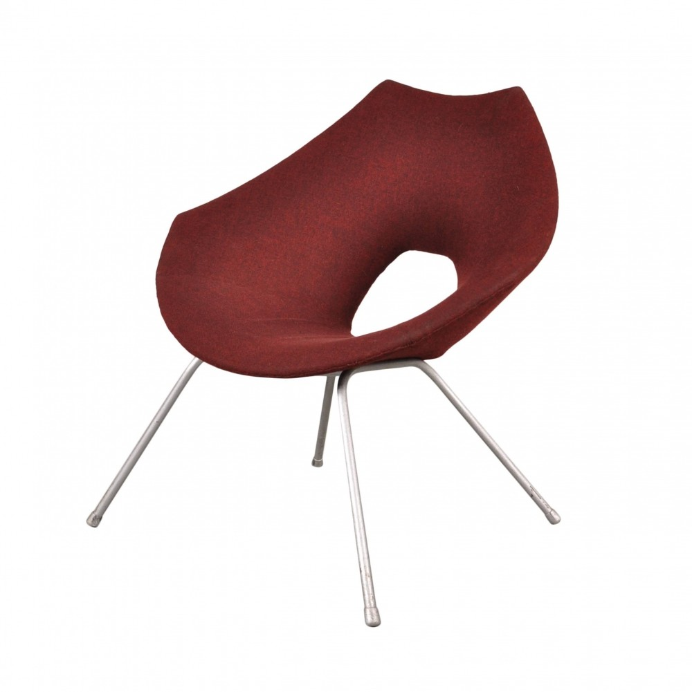 1950s Easy Chair by Augusto Bozzi for Saporiti Italy