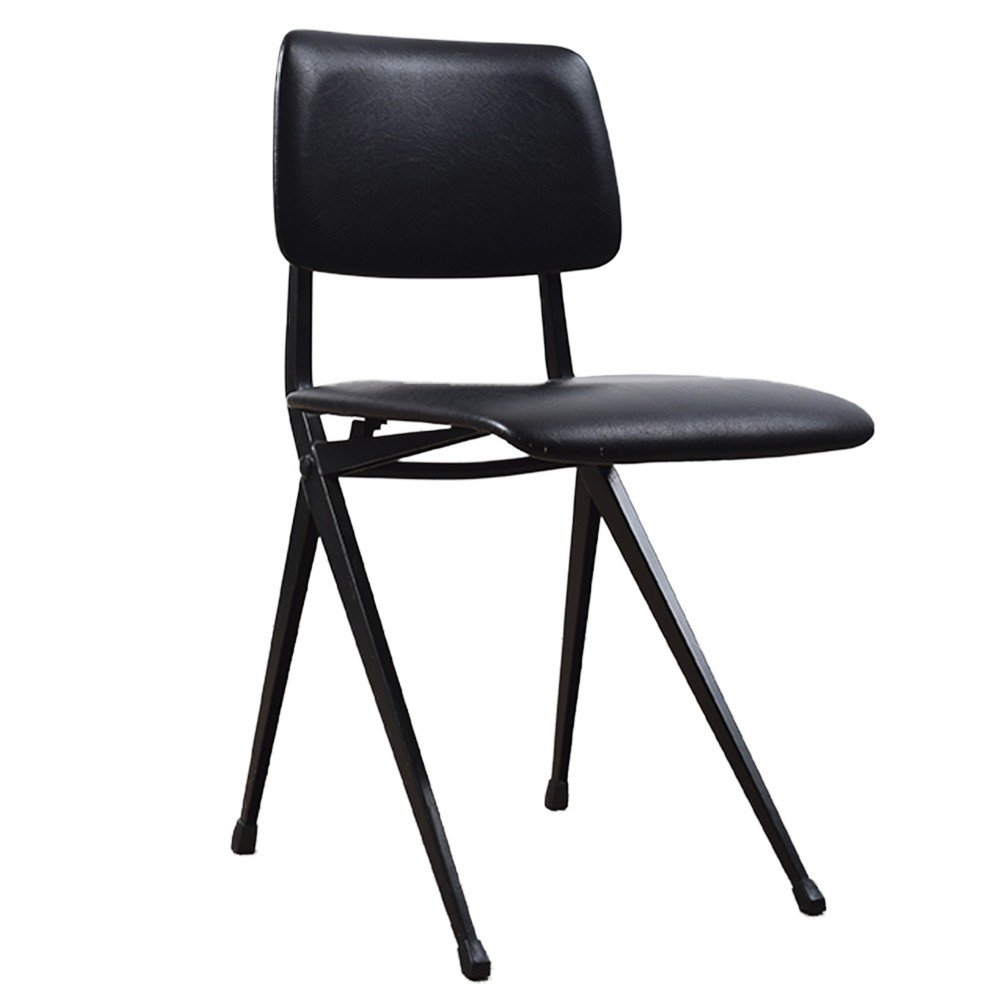 Black school chair by Marko, 1960s