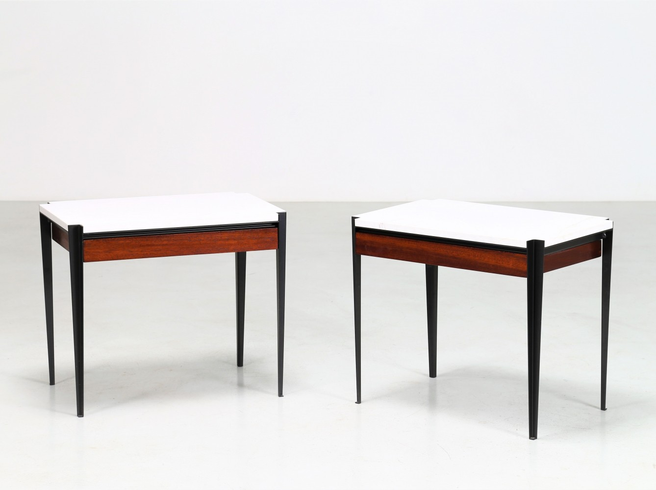 P68 Coffee tables by Osvaldo Borsani for Tecno, 1950s