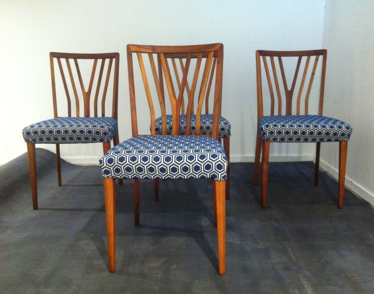 Set Of 4 Zijlstra Joure 'POLY-Z' Chairs By A. Patijn